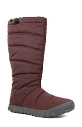 Bogs Puffy Insulated Waterproof Boot Grape