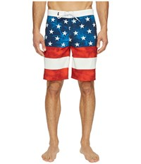 Vans Era Stretch Boardshorts 20 American Flag Men's Swimwear Multi