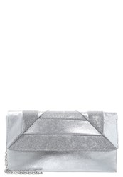 Menbur Ibaizabal Arlanza Clutch Pewter Grey