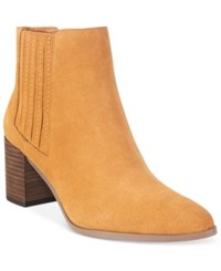 Charles By Charles David Unity Booties Women's Shoes Camel