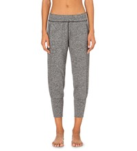 Sweaty Betty Garudasana Yoga Jogging Bottoms Black Marl