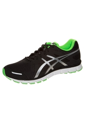 Asics Gelattract Lightweight Running Shoes Black Silver Neon Green