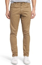 Ag Jeans Men's 'Nomad' Skinny Fit Stretch Twill Pants Sulfur Infantry Khaki