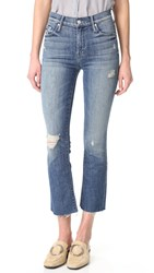 Mother The Insider Crop Fray Jeans Gypsy