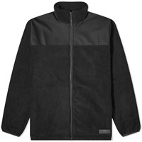 Rains Fleece Jacket Black