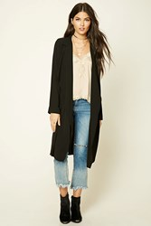 Forever 21 Contemporary Drape Front Jacket