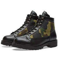 A Bathing Ape Combat Boot Black