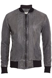 Giorgio Brato Perforated Leather Bomber