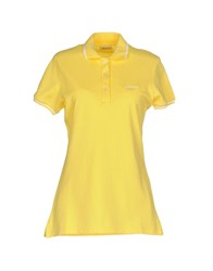 Roy Rogers Roger's Polo Shirts Yellow