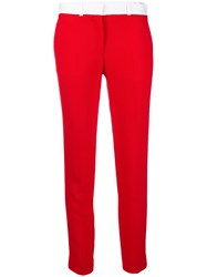 Each X Other Skinny Trousers Red