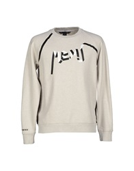 Marc By Marc Jacobs Sweatshirts Light Grey