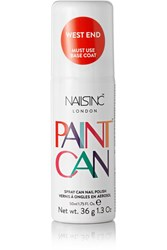 Nails Inc Spray Can Nail Polish West End Tomato Red