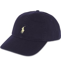 Polo Ralph Lauren Classic Pony Baseball Cap Relay Blue Wicket Yellow