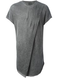 Lost And Found Ria Dunn Pleated Tunic Grey