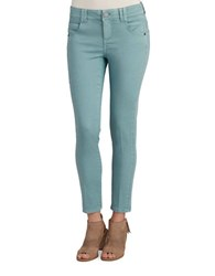 Democracy Solid Slim Fit Jeans Dusty Teal
