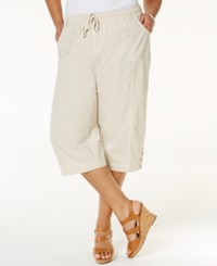 Karen Scott Plus Size Capri Pants Only At Macy's Stonewall
