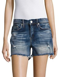 Blank Nyc Amped Out Distressed Cut Off Shorts