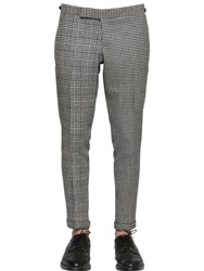 Thom Browne Houndstooth And Prince Of Wales Wool Pants