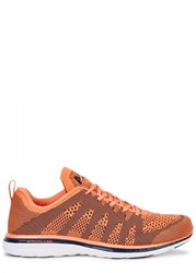 Athletic Propulsion Labs Techloom Pro Peach Knitted Trainers