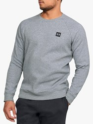 Under Armour Rival Fleece Crew Neck Sweatshirt Steel Black