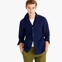 J.Crew Wallace And Barnes Garment Dyed Cotton Linen Shirt Jacket