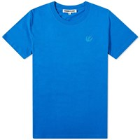 Mcq By Alexander Mcqueen Swallow Patch Tee Blue