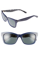 Kate Spade Women's New York Jenae 53Mm Polarized Sunglasses Blue Black Blue Black