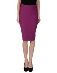 Adele Fado Queen Knee Length Skirts Mauve