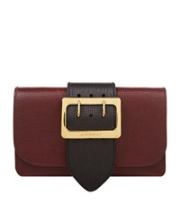 Burberry Shoes And Accessories The Buckle Bag Female Burgundy