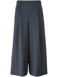 P.A.R.O.S.H. 'Lily' Palazzo Trousers Grey