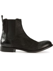 The Last Conspiracy 'Marco' Chelsea Boots Black
