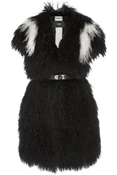 Fendi Two Tone Shearling Gilet