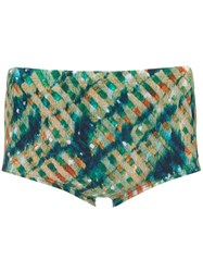 Lygia And Nanny Printed Ipanema Swimming Trunks Green