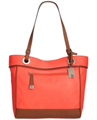 Style And Co. Brightspot Tote Poppy Luggage