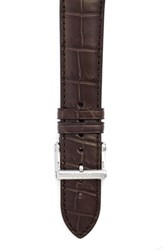 Men's Ball 21Mm Alligator Leather Watch Strap