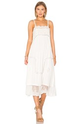 Spell And The Gypsy Collective Peaches Slip Dress White