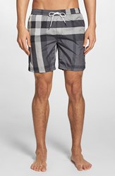 Men's Burberry Brit 'Gowers' Check Swim Trunks