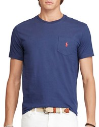 Polo Ralph Lauren Jersey Pocket Crewneck Obsidian Blue