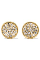 Ippolita Stardust 18 Karat Gold Diamond Earrings One Size