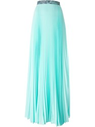 Christopher Kane Pleated Maxi Skirt Green