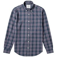 Portuguese Flannel Button Down Napa Check Shirt Multi