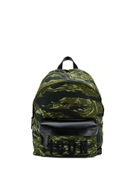 Dsquared2 Camouflage Print Icon Backpack Green