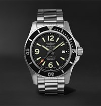 Breitling Superocean Automatic 44Mm Stainless Steel Watch Black