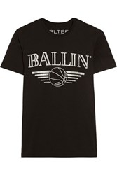 Brian Lichtenberg Basketballin Cotton Jersey T Shirt Black