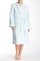Casual Moments Needle Out Wrap With Set In Belt Blue