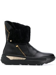 Baldinini Shearling Lined Ankle Boots 60