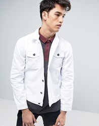 Brave Soul Denim Jacket White