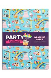 Chronicle Books 'Party Animals' Wrapping Paper