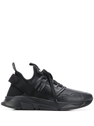 Tom Ford Jago Low Top Sneakers Black