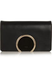 Chloe Gabrielle Leather And Suede Clutch